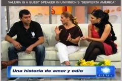 Valeria Vilar psychotherapist at Despierta America