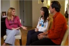 Valeria Vilar en Viva la Familia en Univision