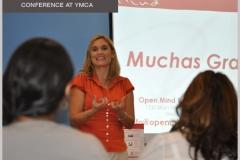 Valeria Vilar en YMCA